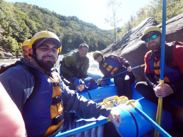 Upper Gauley River Rafting with Travels with Darley's Crew