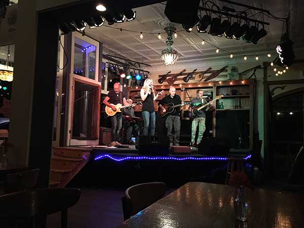 Live music at The Purple Fiddle in West Virginia