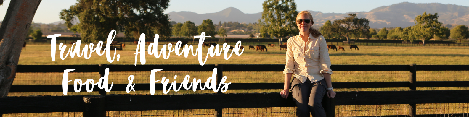 Event Page Banner: Travel, Adventure Food & Friends