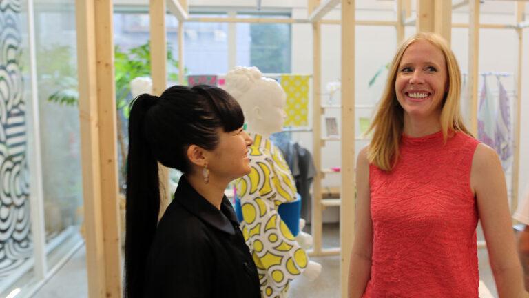 Darley Newman Meeting Tokyo Kimono Designer