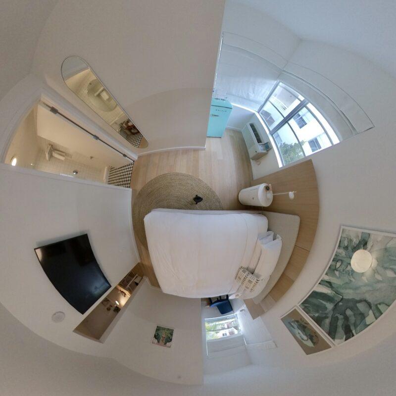 360 fisheye view of my room at The Kimpton Goodland