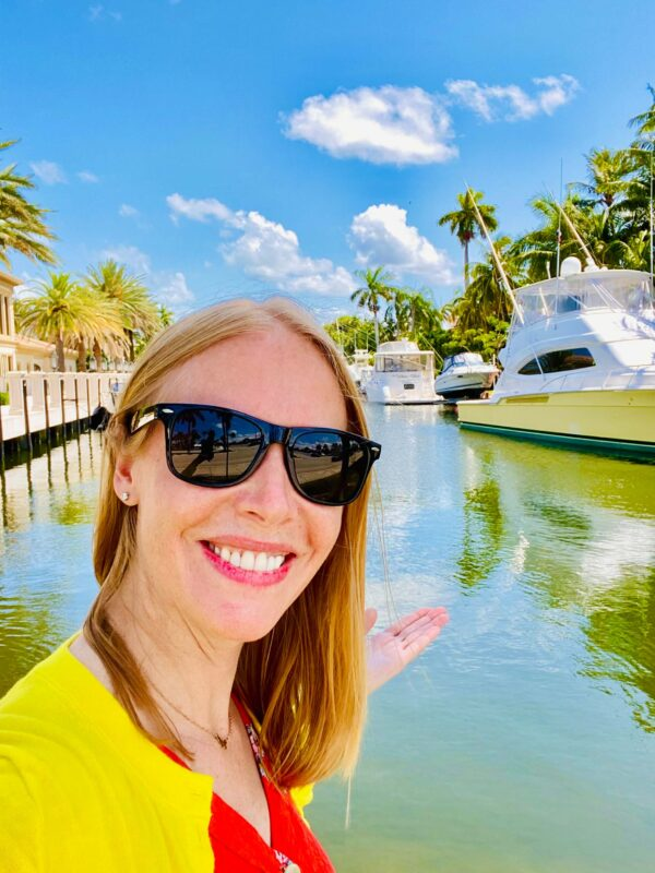 The famous Fort Lauderdale canals