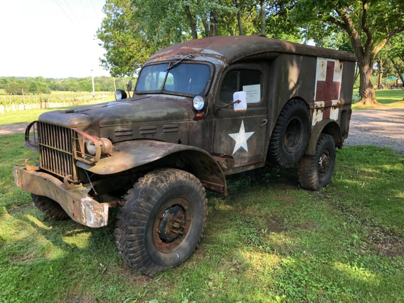 WWII Medical Truck