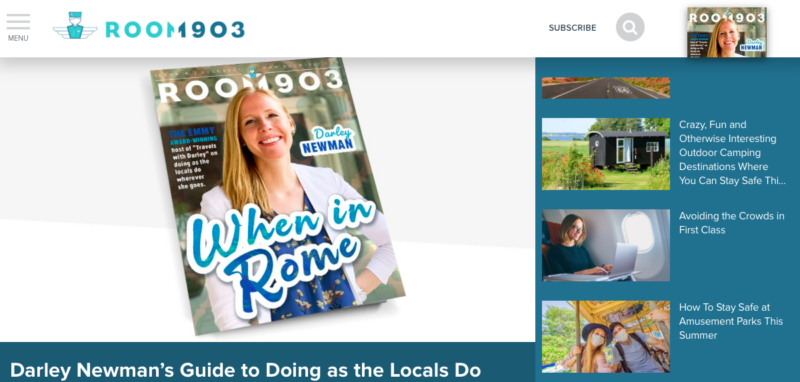 Darley on the Cover of Room 1903